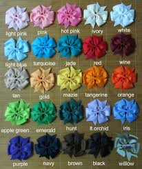 cheap hair bows 25 pieces 4 inch baby hair bows 25 colors to hair bows 4