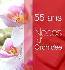 50 ans de mariage noce de quoi noces d orchidée 55 ans de mariage