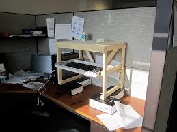 Treadmill Desk Diy by Standing Computer Desk Plans Decorative Desk Decoration
