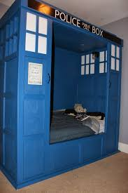 Dr Who TARDIS Bed Build Bedroom My Likes Pinterest Tardis - Dr who bedroom ideas