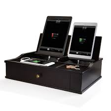 Desk Valet Charging Station Large Charging Valetat Brookstone U2014buy Now