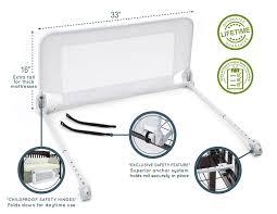 Dexbaby Safe Sleeper Convertible Crib Bed Rail Hiccapop Safe Sleeper Convertible Crib Bed Rail For