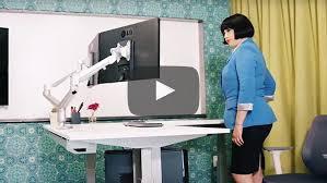 l shaped standing desk height adjustable standing desk videos multitable