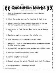 quotation worksheet free worksheets library download and print