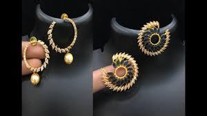 earing design beautiful fancy earrings collections earring