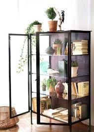 Black Dvd Cabinet Black Media Storage Cabinet Glass Doors Stylish 2 Door Wooden