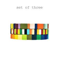 manchette cache pot spectrum bracelet rainbow pre sale roxanne assoulin gift