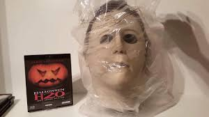 unboxing video halloween h20 trick or treat studios michael myers