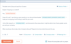 email template software for small business hubspot