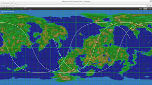 Utk Map Ground Track Or Ground Trace Add On Add On Discussions Kerbal