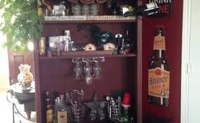 livingroom bar childhood dresser turned wine bar transformation hometalk