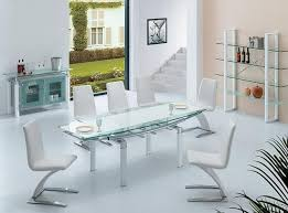 Modern Glass Dining Room Table DRK Architects - Modern glass dining room furniture