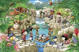 epoch jigsaw puzzle peanuts snoopy summer camp plazajapan