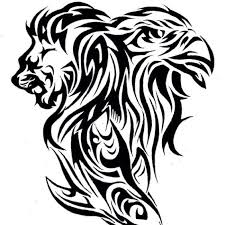 lion eagle a lion and more a lion tattoo designs sharks eagles
