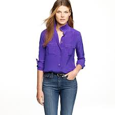 womens silk blouses blouse in silk blouses s shirts tops j crew