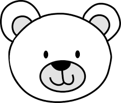 bear cub clipart 5 polar bear coloring pages clipart image 15079