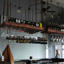 appendi bicchieri bar porta bicchieri appesi qf99 pineglen