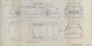 buy blueprints buy these classic ferrari 250gt daytona blueprints