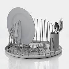 Dishes Rack Drainer Modern Tempo Dish Drainer Rack By Alessi Modern Design By