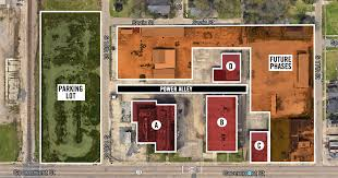 bowling alley floor plans electric depot development nods to the site u0027s past while