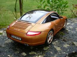 orange porsche targa porsche 997 carrera 4s targa orange norev diecast model car 1 18