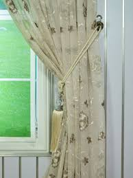 elbert flower pattern embroidered pencil pleat white sheer curtain