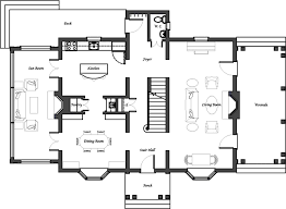 colonial house floor plans traditional house plans colonial floor plan simple small create my