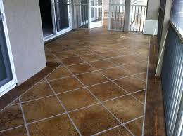 acid stained concrete flooring lake ozark
