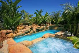 tropical pools u2013 beautiful and exotic landscape ideas