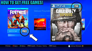 how to get free ps4 games still working get new exclusive games
