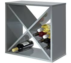 cuisine city hygena buy hygena 24 bottle wine rack cube grey at argos co uk your