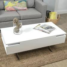 cheap white end tables white end table with storage storage table white and silver coffee