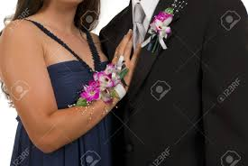 boutonniere prom prom or wedding corsage and boutonniere stock photo picture and