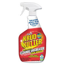 what is the best cleaner to remove grease from kitchen cabinets krud kutter 32 oz original concentrate cleaner degreaser