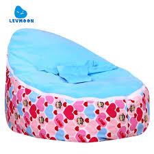 levmoon mediummouth monkey bean bag chair kids bed for sleeping