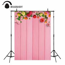 wedding backdrop board allenjoy vinyl photo backdrops pink board flowers wedding