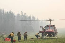 Alberta Wildfire Zones by Crews Battle Blaze Creeping Closer To Banff Fire Ban In Place