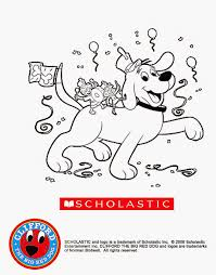 clifford coloring pages free coloring pages clifford the big red dog coloring pages to print