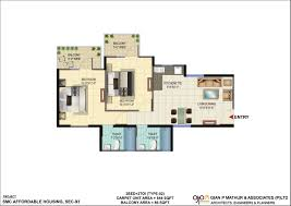 affordable housing floor plans signature orchard avenue new affordable housing project sector 93