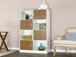 Leaning Bookcase White by Chateau Bookcase Walnut Leaning Bookcase White Modern Bookcase