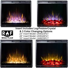 Dimplex 23 Electric Fireplace Insert 33 Inch Flat Ventless Heater Electric Fireplace Insert