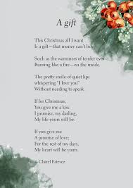 the christmas wish list a gift christmas wish list poem the wishful box poetry