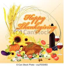 thanksgiving dinner illustration background vectors search clip