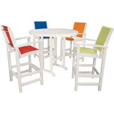 outdoor chairs patio bar height chairs pub height patio