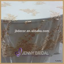 cheap lace overlays tables tl002r2 alibaba embroidery gold lace round cheap wedding table