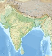 India Physical Map by Physical Map Of India Wikipedia You Can See A Map Of Many Places
