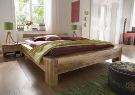 Schlafzimmer Bett 220 X 200 Sam Balkenbett Alma Eiche 200x220 Cm Balken Farbauswahl