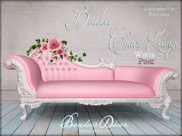 Pink Chaise Lounge Second Marketplace Boudoir Chaise Lounge Potpourri White Pink