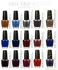 the san francisco by opi collection