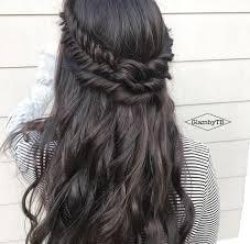 black layered crown hair styles long dark hair braided crown hairstyles pinterest long